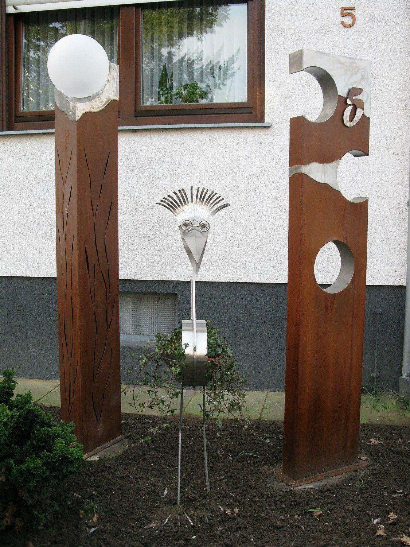 Full Size of Gartendeko Aus Holz Und Metall Stahlsulen Mit Edelstahl Plattiert Gartenkunst Clinique Even Better Foundation Esstisch Bad Frankenhausen Hotel Bauhaus Fenster Wohnzimmer Gartendeko Aus Holz Und Metall