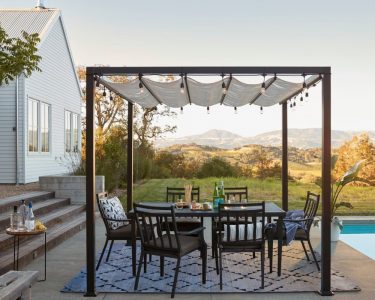 Pergola Metall Wohnzimmer Pergola Metall 10 Stylish Ideas For Your Backyard Und Regale Regal Bett Weiß Garten
