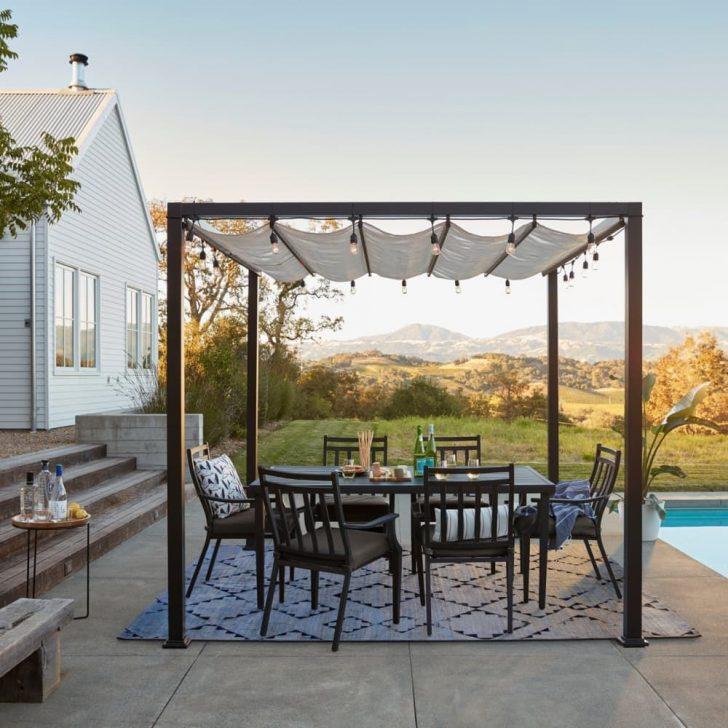 Medium Size of Pergola Metall 10 Stylish Ideas For Your Backyard Und Regale Regal Bett Weiß Garten Wohnzimmer Pergola Metall