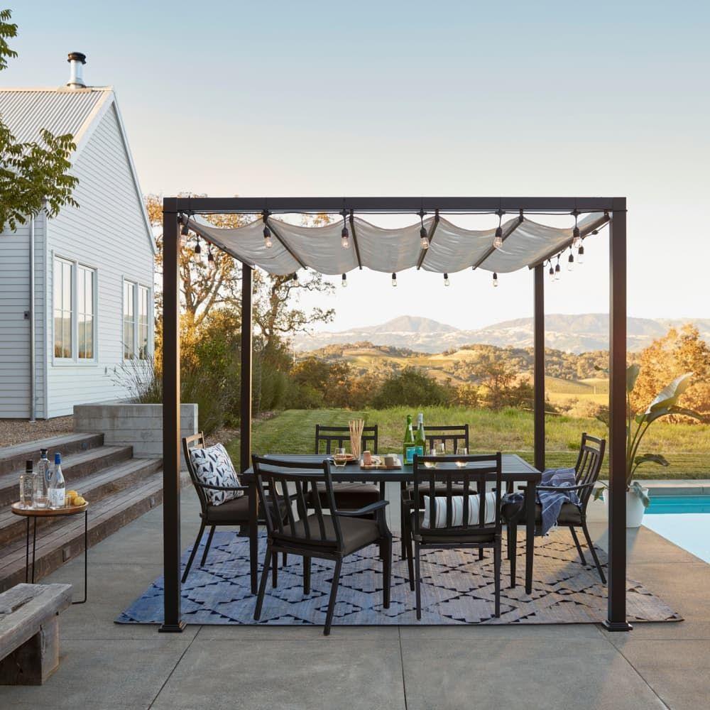 Full Size of Pergola Metall 10 Stylish Ideas For Your Backyard Und Regale Regal Bett Weiß Garten Wohnzimmer Pergola Metall