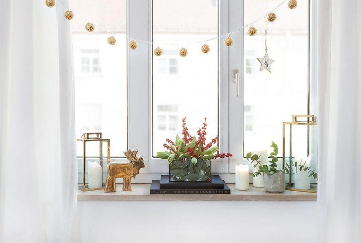 Medium Size of Deko Fensterbank Kreative Weihnachtsdeko Frs Fensterbrett Im Westwing Magazin Wohnzimmer Dekoration Für Küche Wanddeko Badezimmer Schlafzimmer Wohnzimmer Deko Fensterbank