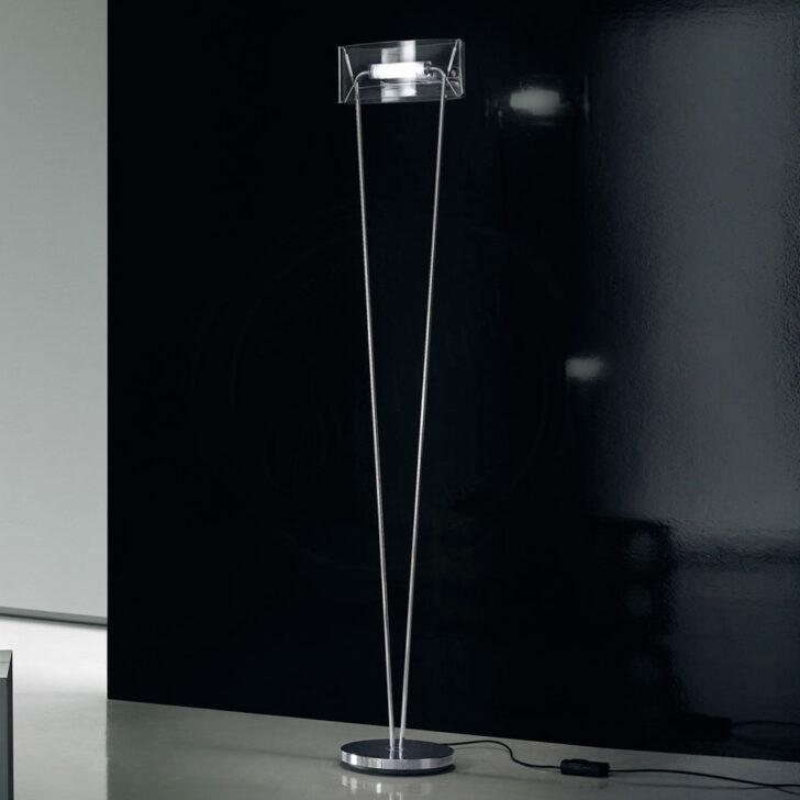 Medium Size of Stehlampe Modern Leucos Vittoria Tr Aus Geblasenem Kristallglas Wohnzimmer Moderne Duschen Esstisch Schlafzimmer Bett Design Deckenleuchte Bilder Wohnzimmer Stehlampe Modern