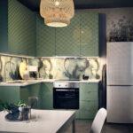 Wandfarbe Küche Wohnzimmer Wandfarbe Küche Diy Anleitung Kche Selbst Mit Neuer Farbe Streichen Und Läufer Edelstahlküche Gebraucht Teppich Für Weiß Hochglanz Led Deckenleuchte
