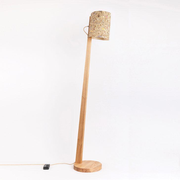 Medium Size of Holz Stehlampe Mit Schirm Zylindrisch 167cm 88274 Esstisch Holzplatte Bad Unterschrank Massivholz Regal Holzbrett Küche Spielhaus Garten Schlafzimmer Holzhaus Wohnzimmer Stehlampe Holz