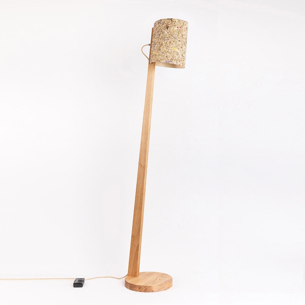 Full Size of Holz Stehlampe Mit Schirm Zylindrisch 167cm 88274 Esstisch Holzplatte Bad Unterschrank Massivholz Regal Holzbrett Küche Spielhaus Garten Schlafzimmer Holzhaus Wohnzimmer Stehlampe Holz