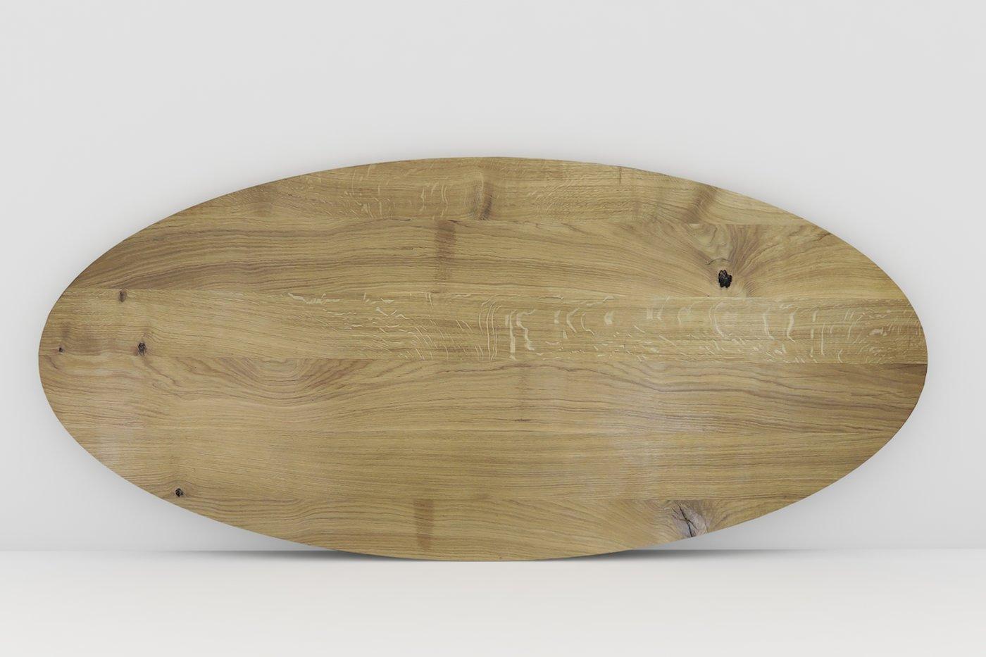 Full Size of Eiche Massiv Tischplatte Oval Nach Ma Massivholz Esstisch Bogenlampe 2m Holzplatte Weißer Akazie Stühle Rustikaler Groß Klein Holz Quadratisch Esstische Esstische Ovaler Esstisch