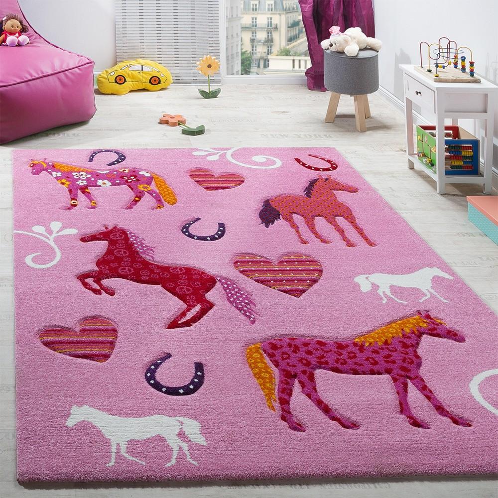 Full Size of Kinderzimmer Teppich Pferde Pink Teppichcenter24 Sofa Regal Regale Weiß Kinderzimmer Kinderzimmer Pferd
