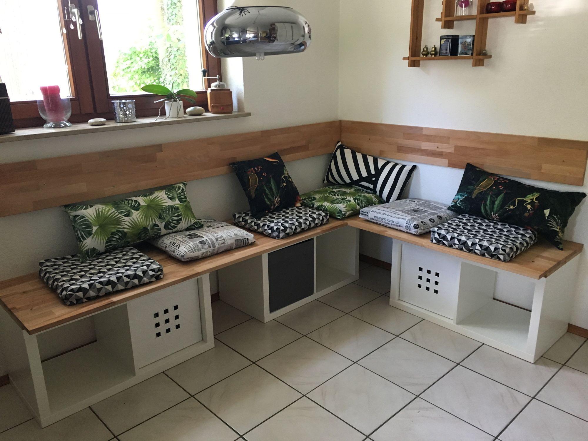 Full Size of Eckbank Ikea Mit Kallagebaut Bildern Modulküche Miniküche Sofa Schlaffunktion Küche Kaufen Betten Bei Garten Kosten 160x200 Wohnzimmer Eckbank Ikea