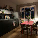 Küche Wandfarbe Farbe In Der Wohnung Ein Paar Tipps Zur Auswahl Richtigen Spritzschutz Plexiglas Bodenbelag Hängeregal Fliesen Für Tresen Weiße Vinylboden Wohnzimmer Küche Wandfarbe