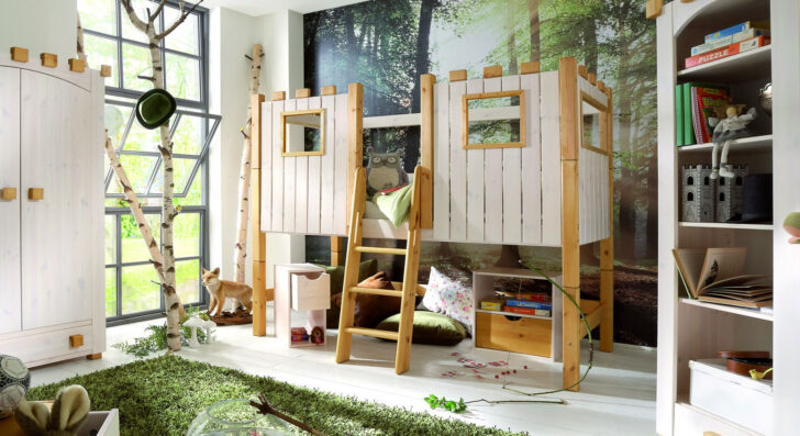 Medium Size of Kinderhochbett Als Ritterburg Aus Holz Kids Paradise Regale Kinderzimmer Regal Weiß Sofa Kinderzimmer Hochbett Kinderzimmer