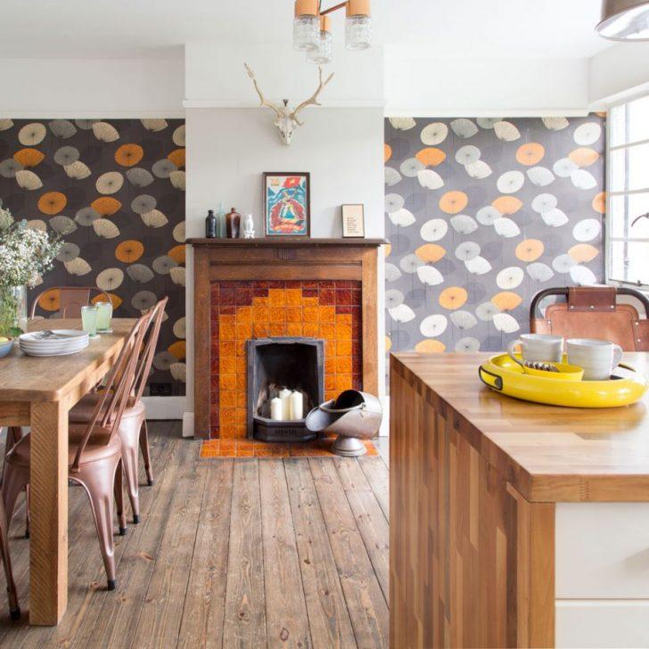 Medium Size of Kchen Tapeten Ideen Haus Deko Part 7 Wohnzimmer Küchentapeten