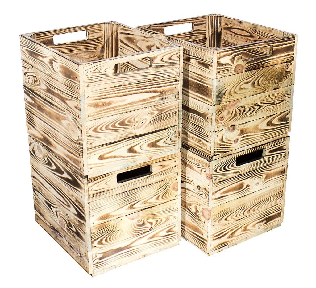 Full Size of Regal Kisten 4er Set Geflammte Gebrannte Kiste Fr Kallaregal Real Aus Weinkisten Wildeiche 25 Cm Tief Wein Kleines Mit Schubladen Bücher Kinderzimmer 20 Regal Regal Kisten