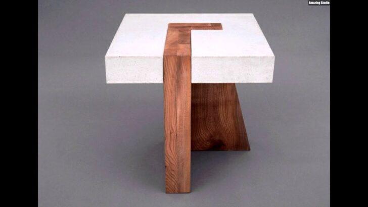 Medium Size of Esstisch Betonplatte Beton Holz Tisch Eine Originelle Einrichtungsidee Esstische Design Klein Antik Industrial Bogenlampe Quadratisch Weiß Designer Esstische Esstisch Betonplatte