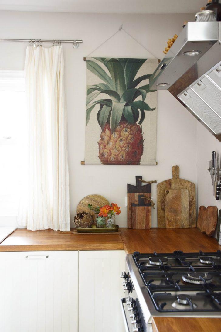 Medium Size of Küche Wanddeko Meine Kche Ananas Fr Wand Mrs Greenery Beistelltisch Wasserhahn Modulküche Jalousieschrank Planen Nischenrückwand Was Kostet Eine Neue Wohnzimmer Küche Wanddeko