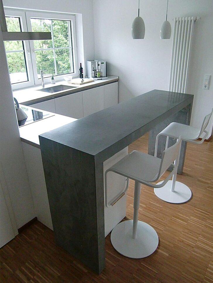 Medium Size of Kchen Theke Beton Jrg Sander Planc Kche Mit Wohnzimmer Küchentheke