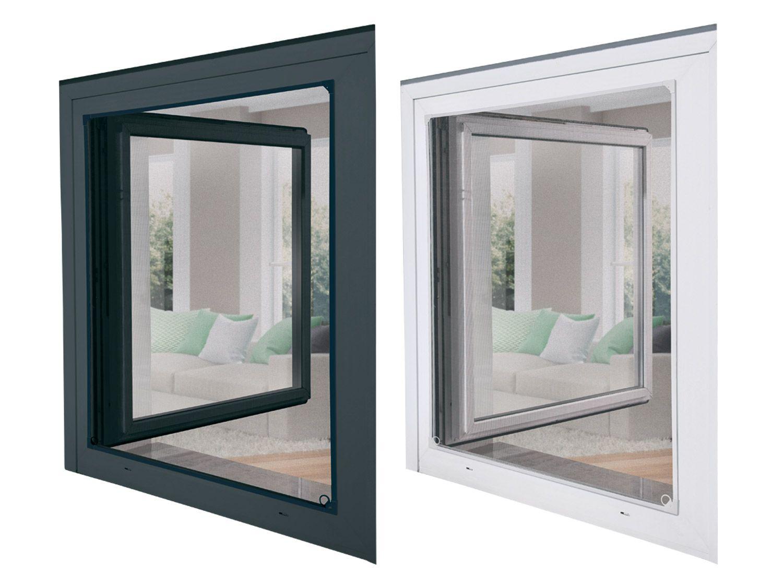 Full Size of Fliegengitter Magnet Powerfiinsektenschutzfenster Fenster Für Magnettafel Küche Maßanfertigung Wohnzimmer Fliegengitter Magnet