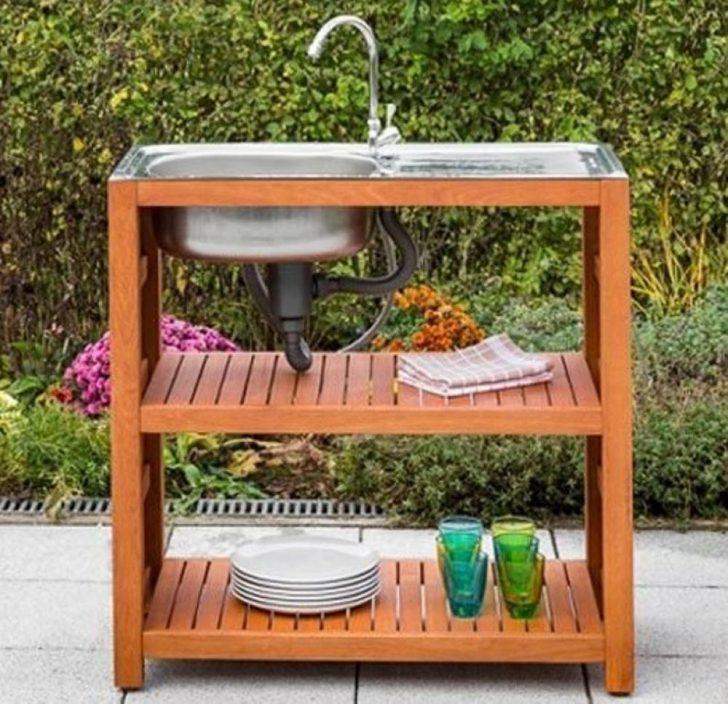 Medium Size of Outdoor Waschbecken Mgartensple Euka Eukalyptusholz Hier Bestellen Küche Kaufen Badezimmer Bad Edelstahl Keramik Wohnzimmer Outdoor Waschbecken