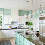 Wandfarbe Küche Wohnzimmer Wandfarbe Küche Kche Streichen Und Passende Einrichtung Wohnklamotte Komplette Salamander Sideboard Landhausstil Einbauküche Ohne Kühlschrank Servierwagen