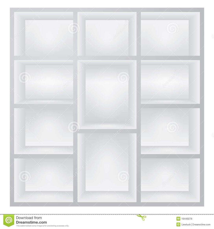Large Size of Weiße Regale Weie Vektor Abbildung Illustration Von Kasten 19449276 String Gebrauchte Kleine Weißes Sofa Bett 160x200 Schlafzimmer Holz Regal Metall Betten Regal Weiße Regale
