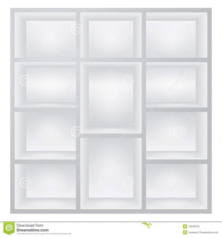 Medium Size of Weiße Regale Weie Vektor Abbildung Illustration Von Kasten 19449276 String Gebrauchte Kleine Weißes Sofa Bett 160x200 Schlafzimmer Holz Regal Metall Betten Regal Weiße Regale