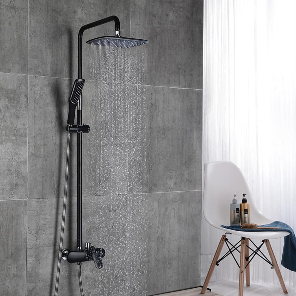 Full Size of Rainshower Dusche Schwarz Duschsystem Regendusche Real Begehbare Duschen Einbauen Kaufen Wand Glasabtrennung Glaswand Fliesen Grohe Unterputz Eckeinstieg Dusche Rainshower Dusche
