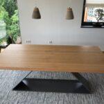 Designer Esstisch Design Metall Eiche Massivholz Weiß Oval Rustikal Beton Lampe Ovaler Set Günstig Stühle Runder Ausziehbar Weißer Mit 4 Stühlen Esstische Designer Esstisch