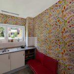Küchentapete Wohnzimmer Küchentapete Blumenmuster Kchentapeten Adler Wohndesign