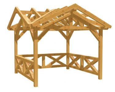Pavillon Holz Selber Bauen Wohnzimmer Gartenpavillon Selber Bauen Holz Bauplande Massivholz Esstisch Fenster Rolladen Nachträglich Einbauen Bad Waschtisch Bett 180x200 140x200 Küche Planen