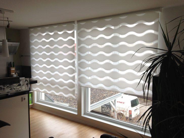 Medium Size of Doppelrollo Wave Von Mhz Kche Tende A Gardinen Für Die Küche Scheibengardinen Fenster Schlafzimmer Wohnzimmer Wohnzimmer Gardinen Küchenfenster