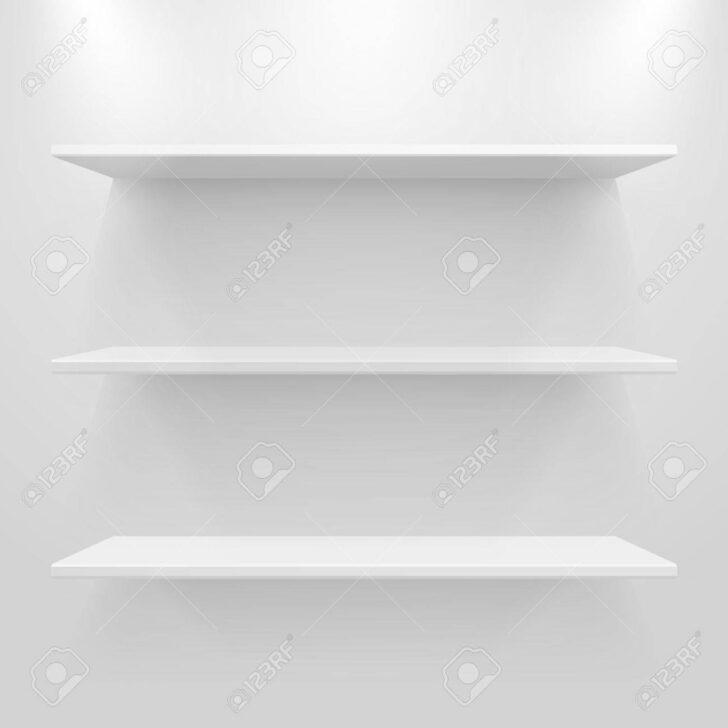 Medium Size of Weiße Regale Leere Weie Auf Hellgrauem Hintergrund Lizenzfrei Nutzbare Aus Europaletten Günstige Weiß Obi Kaufen Roller Bito Gebrauchte Schäfer Weißes Regal Weiße Regale