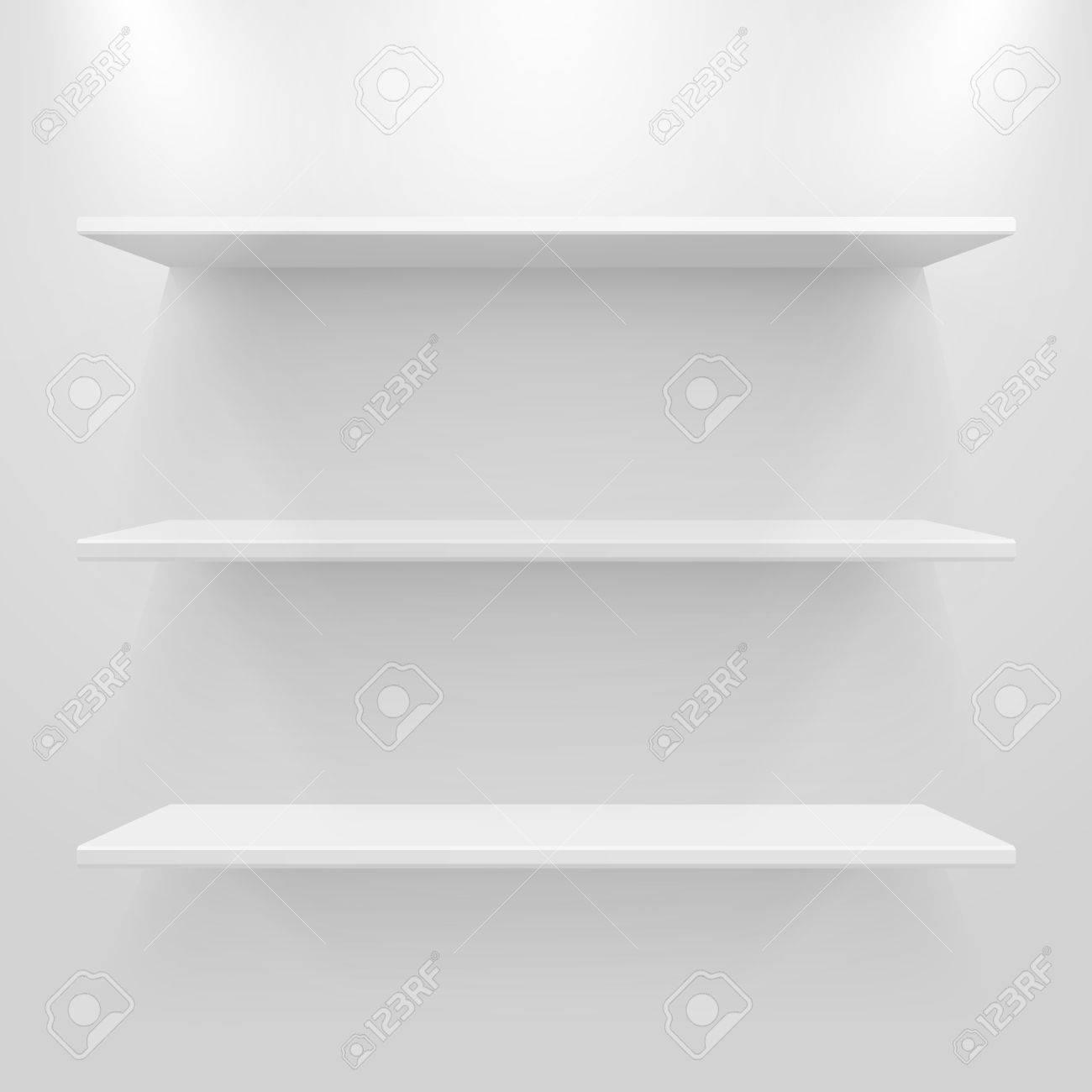 Full Size of Weiße Regale Leere Weie Auf Hellgrauem Hintergrund Lizenzfrei Nutzbare Aus Europaletten Günstige Weiß Obi Kaufen Roller Bito Gebrauchte Schäfer Weißes Regal Weiße Regale