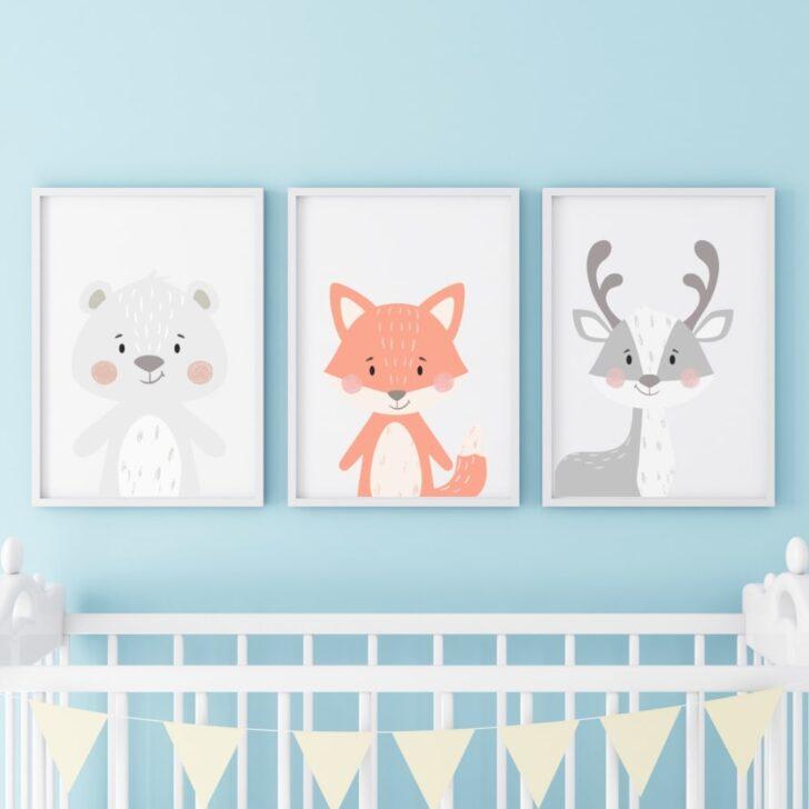 Bild Kinderzimmer 3er Set Babyzimmer Poster Bilder Din A4 Br Regale Wohnzimmer Modern Xxl Regal Weiß Wandbild Sofa Moderne Fürs Großes Glasbilder Bad Kinderzimmer Bild Kinderzimmer