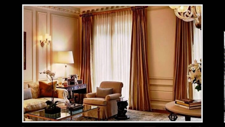 Medium Size of Gardinen Ideen Wohnzimmer Modern Youtube Schlafzimmer Bad Renovieren Scheibengardinen Küche Fenster Für Die Tapeten Wohnzimmer Gardinen Ideen