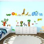 Bordüren Kinderzimmer Kinderzimmer Bordüren Kinderzimmer Bordre Wohnzimmer Reizend Wandtattoo Junge Eisenbahn Sofa Regale Regal Weiß