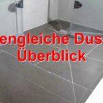 Ebenerdige Dusche Bodengleiche Youtube Nischentür Duschen Kaufen Moderne Begehbare Hüppe Badewanne Mit Kleine Bäder Wand Einhebelmischer Nachträglich Dusche Ebenerdige Dusche