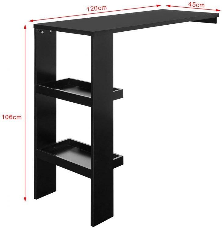 Medium Size of Küchenbartisch Sobuy Fwt55 Sch Design Bartisch Stehtisch Bartresen Bistrotisch Wohnzimmer Küchenbartisch