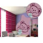 Wandschablonen Kinderzimmer Kinderzimmer Wandschablonen Kinderzimmer Brico Online Kaufen Knstlershop Gerstaeckerde Regal Weiß Regale Sofa