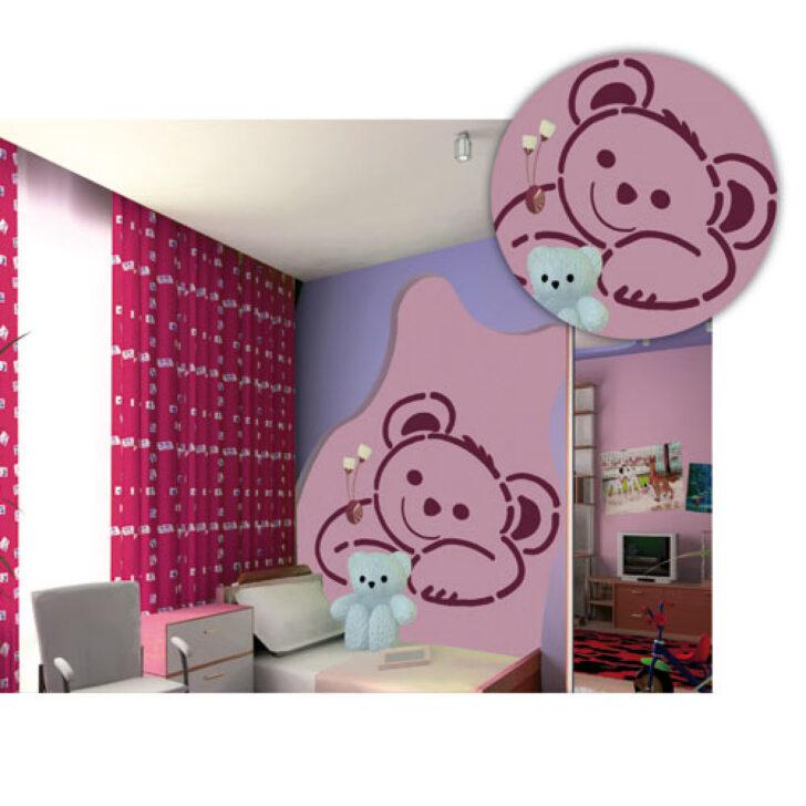 Medium Size of Wandschablonen Kinderzimmer Brico Online Kaufen Knstlershop Gerstaeckerde Regal Weiß Regale Sofa Kinderzimmer Wandschablonen Kinderzimmer