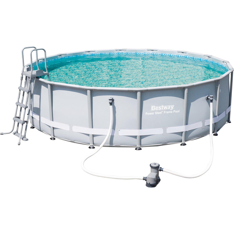 Full Size of Bestway Stahlrahmen Pool Set 488 Cm 122 Kaufen Bei Obi Swimmingpool Garten Nobilia Küche Whirlpool Mini Einbauküche Fenster Im Bauen Aufblasbar Regale Wohnzimmer Obi Pool