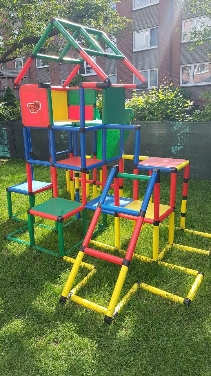 Medium Size of Unser Aktueller Aufbau Unseres Quadro Gerstes Wir Bauen Jedes Klettergerüst Garten Wohnzimmer Quadro Klettergerüst