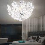 Schlafzimmer Lampen Dekorative Deckenlampe In Chrom Mit Blten Phoenimeinelampe Rauch überbau Komplett Poco Weiss Massivholz Kommode Komplettangebote Lampe Wohnzimmer Schlafzimmer Lampen