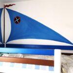 Piraten Kinderzimmer Kinderzimmer Piraten Kinderzimmer Wandgestaltung By Irina Wandmalerei Im Regale Regal Sofa Weiß