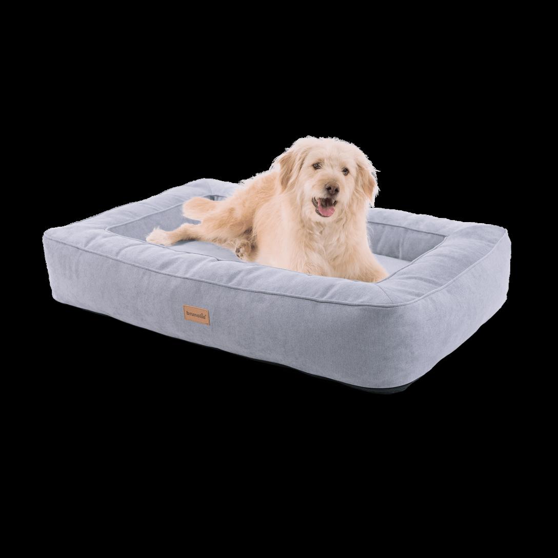 Large Size of Hundebett Flocke Orthopdisches Bruno L Mit Waschbarem Bezug Brunoliede Wohnzimmer Hundebett Flocke