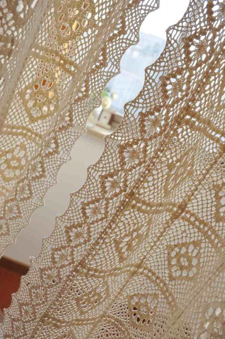Medium Size of Gardine Häkeln Moderne Hkelgardinen Fr Romantischen Touch 30 Ideen Wohnzimmer Gardinen Für Fenster Küche Scheibengardinen Schlafzimmer Die Wohnzimmer Gardine Häkeln