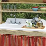 Outdoor Waschbecken Wohnzimmer Originelle Ideen Fr Gartensple Badezimmer Waschbecken Outdoor Küche Edelstahl Bad Kaufen Keramik