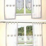 Kurze Gardinen Wohnzimmer Gardinen Für Schlafzimmer Wohnzimmer Scheibengardinen Küche Die Fenster