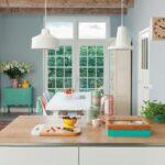Wandfarbe Küche Wohnzimmer Wandfarbe Küche Farbe In Der Kche So Wirds Wohnlich Wellmann Deckenlampe Magnettafel Ikea Miniküche Abfalleimer Was Kostet Eine Neue Hängeregal Modulare