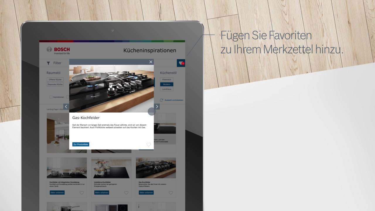 Full Size of Bosch Kcheninspirationen Services Wohnzimmer Küchenideen