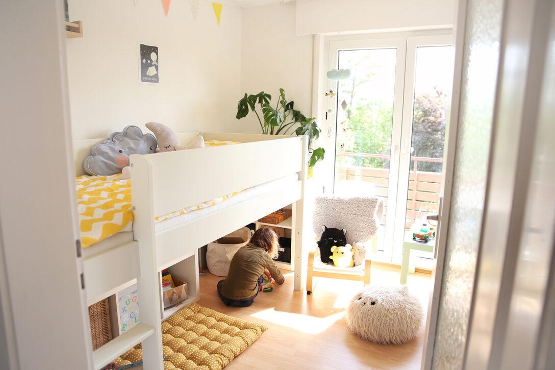 Large Size of Kinderzimmer Hochbett Room Tour Einblicke In Das Reich Der Jungs Sofa Regal Weiß Regale Kinderzimmer Kinderzimmer Hochbett