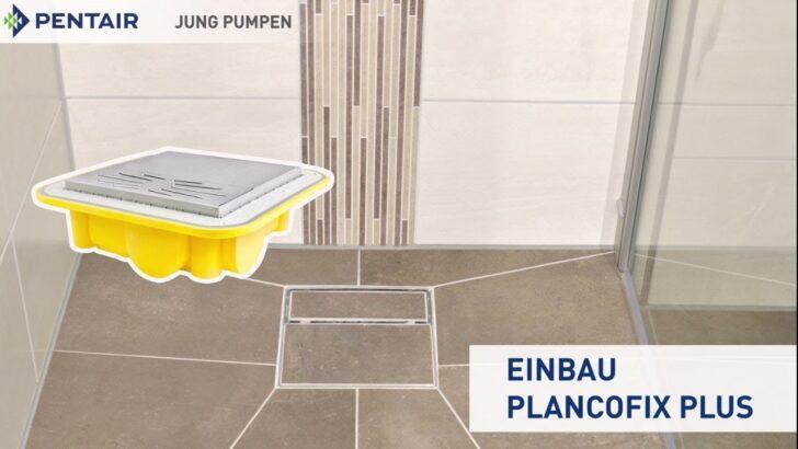 Medium Size of Plancofibodengleiche Dusche So Gehts Fliesen Unterputz Armatur Hüppe Schulte Duschen Behindertengerechte Bodenebene Ebenerdige Antirutschmatte Fürs Bad Dusche Bodengleiche Dusche Fliesen